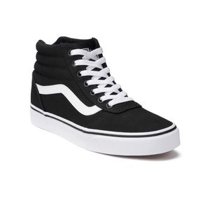 VANS | Womens Classic Black Hi Top Sneakers Shoe